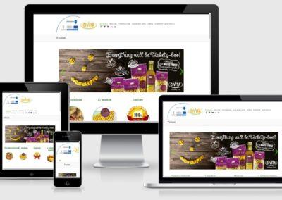 civita weboldal készítése