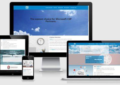 Skysera weboldal készítése