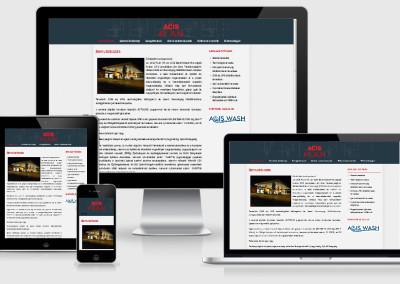 ACIS Plan mobilra optimalizált weboldal készítés
