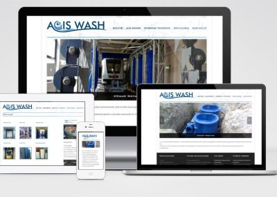 ACIS Wash Balaton Park mobilra optimalizált weboldal készítés