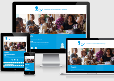 AFAC mobil telefonokra optimalizált weboldal készités