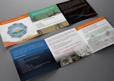 Con-cert brossúra tervezés