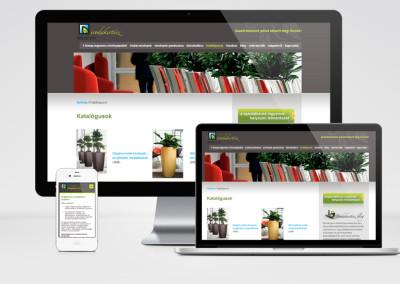 Decorum kft. mobilra optimalizált weboldal készítés