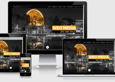 WEO media weboldal készítés