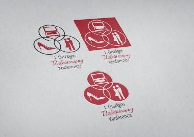 Üzletasszony Konferencia logó tervezés