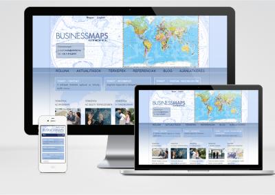 Stiefel Kft. mobilra optimalizált weboldal készítés