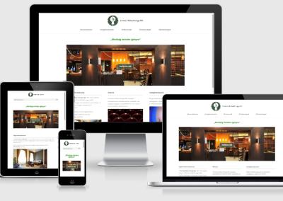 Szatmár Bútor Design mobilra optimalizált weboldal készítés