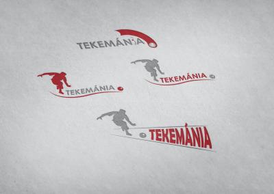 tekemánia logó tervezés