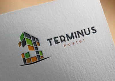 Terminus logó tervezés