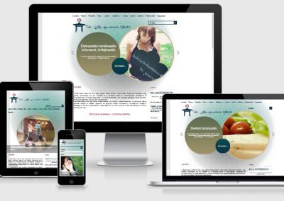 Testi Lelki Harmónia mobilra optimalizált weboldal készítés