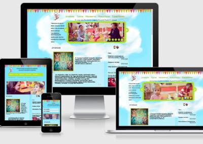 Tunyogi Alapítvány mobilra optimalizált weboldal készítés