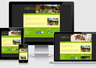 Zöldkert Stúdió mobilra optimalizált weboldal készítés