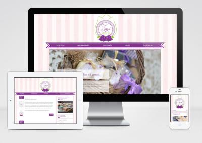 Zsuzsi Kence mobilra optimalizált weboldal készítés