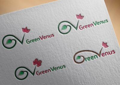 greenvenuslogovariationsmockup
