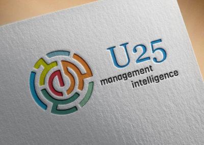 u25 logó tervezés